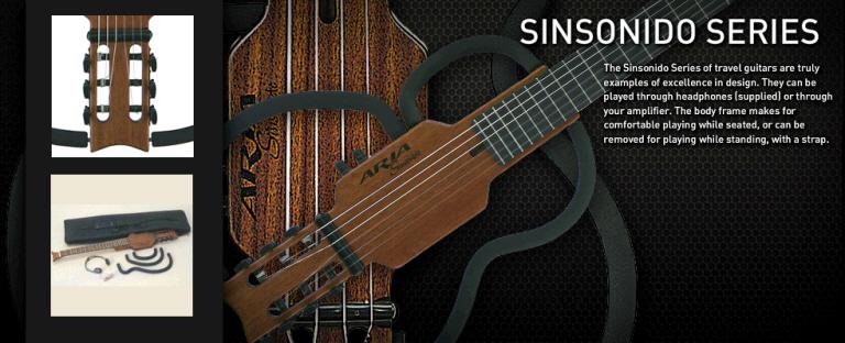 Gitarr och bas för resenären