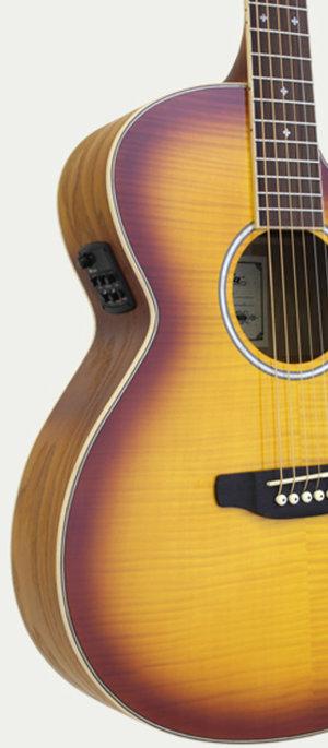 Elektroakustisk gitarr FET-01FX