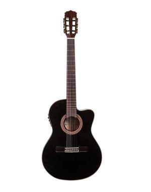 Akustisk gitarr, Aria A-48CE, nylonsträngad