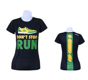 """T-shirt, BONK """"Don't stop run"""" TECH, dam"""
