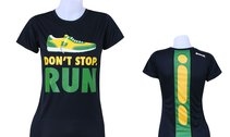 "T-shirt, BONK ""Don't stop run"" TECH, dam"