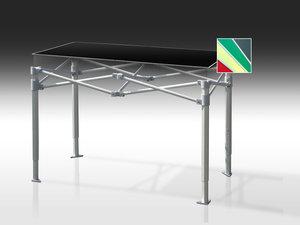 Bord, Pro Table, 70 x 70 cm, hopfällbart