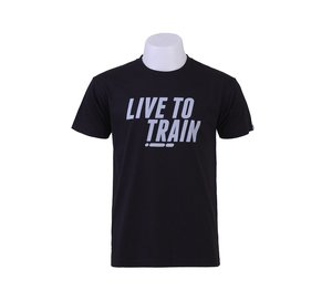 T-shirt, LIVE TO TRAIN, herr